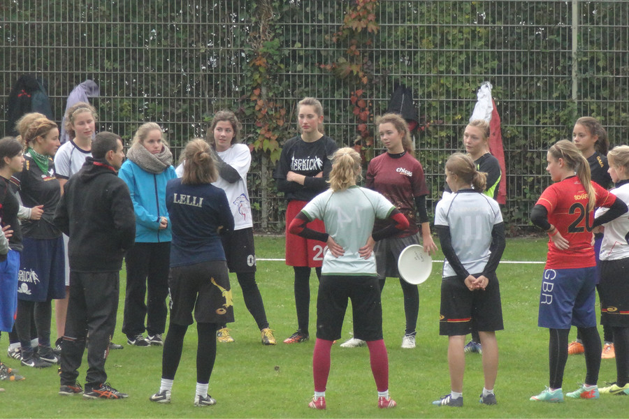 u20 Frauen TL in Heidelberg 2015
