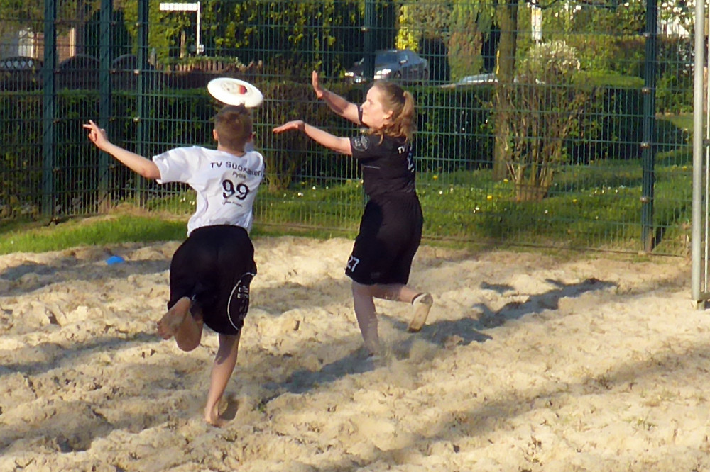 Bilder von unserem Training - Beach Training in Bönen